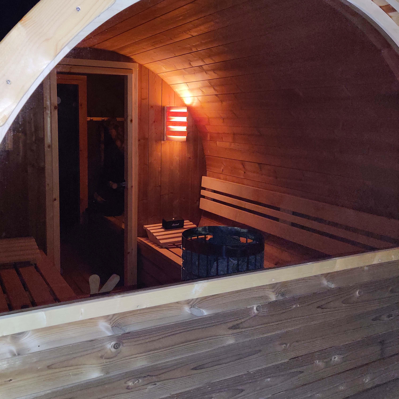 inkijkje sauna